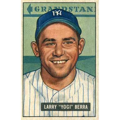 "Larry ""Yogi"" Berra   - 1952 Bowman"