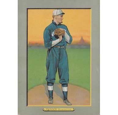 Walter Johnson - 1910 Tobacco T-3