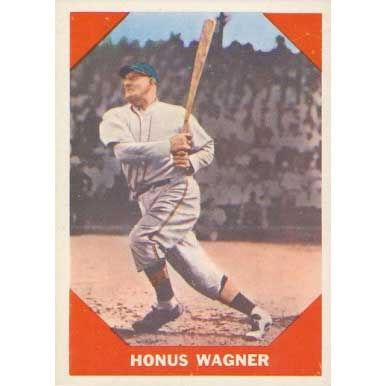 Honus Wagner   - 1960 Fleer