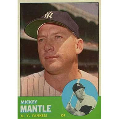 Mickey Mantle  - 1963 Topps