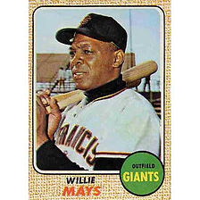 Willie Mays - 1968 Topps