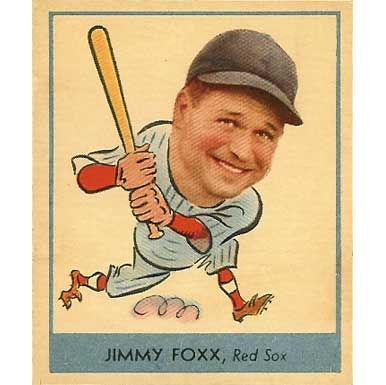 Jimmy Foxx    - 1938 Goudey