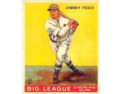 Jimmy Foxx    - 1933 Goudey
