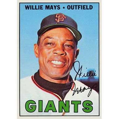 Willie Mays - 1967 Topps