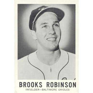 Brooks Robinson   - 1960 Leaf