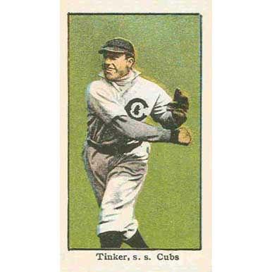 Joe Tinker - 1910 Caramel E90-3