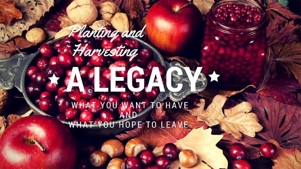 Cultivating a Legacy