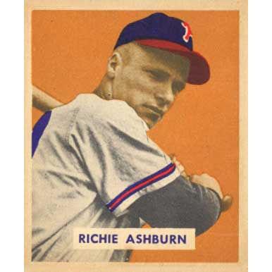 Richie Ashburn   - 1949 Bowman