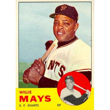 Willie Mays  - 1963 Topps