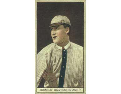 Walter Johnson 1912 Tobacco T-207
