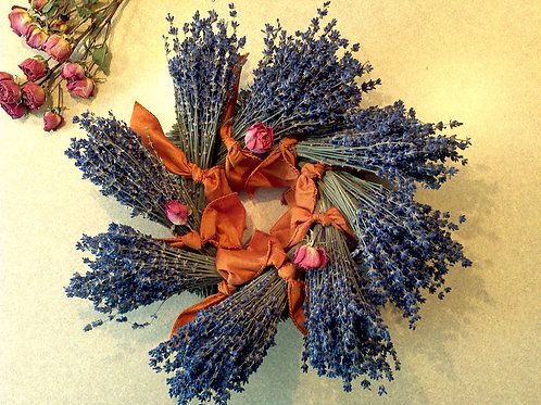 Lavender Wreath (made to order)