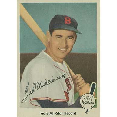 Ted's All-Star Record   - 1959 Fleer