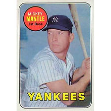 Mickey Mantle - 1969 Topps