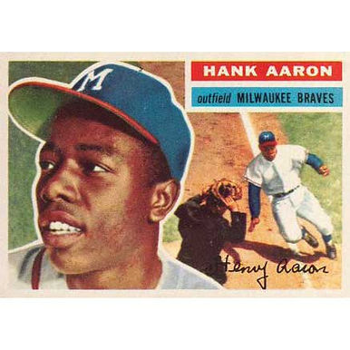Hank Aaron  - 1956 Topps