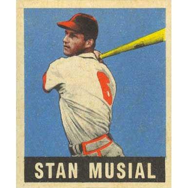Stan Musial    - 1940 Leaf