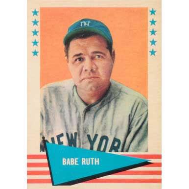 Babe Ruth  - 1961 Fleer