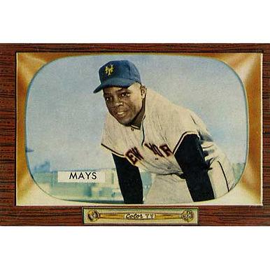 Willie Mays    - 1955 Bowman