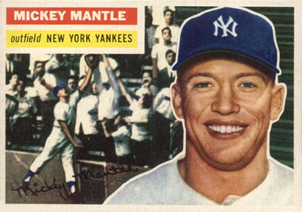 Topps Mickey Mantle Trading Card