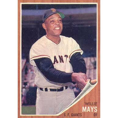Willie Mays  - 1962 Topps