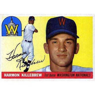 Harmon Killebrew   - 1955 Topps
