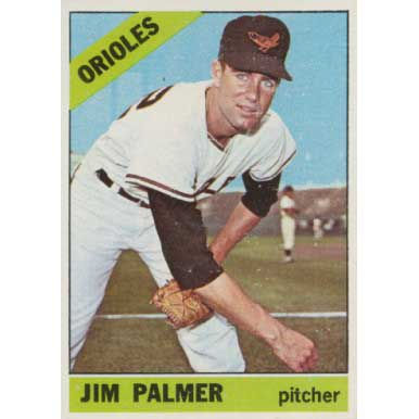 Jim Palmer  - 1966 Topps