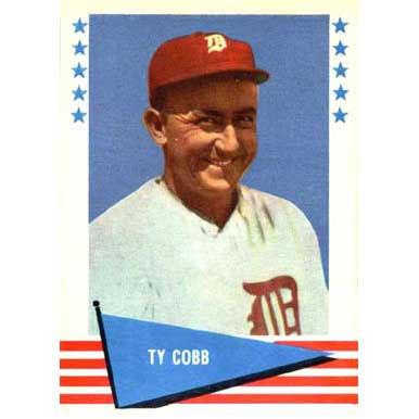 Ty Cobb  - 1961 Fleer