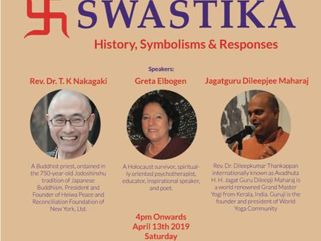 Rev. T.K. Nakagaki to speak on the Buddhist Swastika this Saturday in NYC