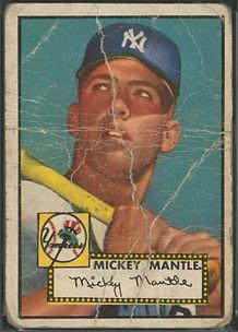 1952 Topps Mickey Mantle PR 1