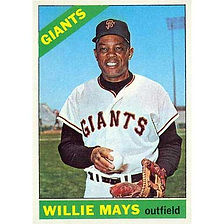 Willie Mays  - 1966 Topps