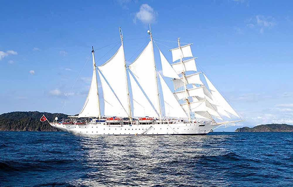 The Star Flyer Sailing Ship