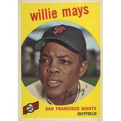 Willie Mays   - 1959 Topps