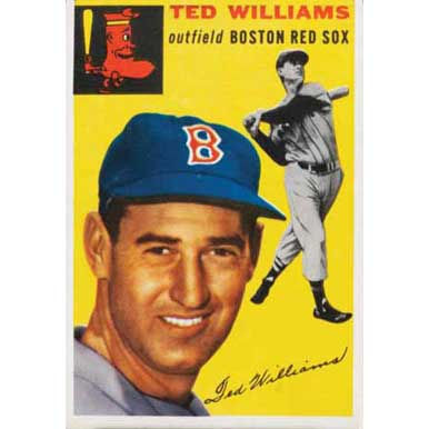 Ted Williams   - 1954 Topps