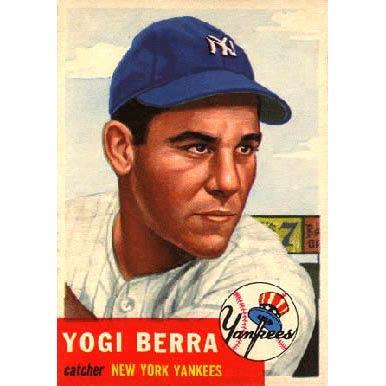 Yogi Berra   - 1953 Topps