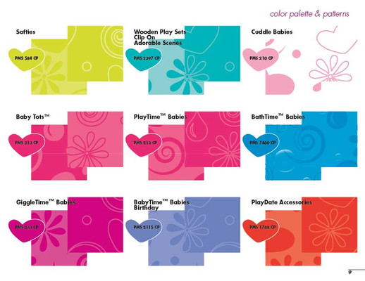 Adora Style Guide - Color Palette
