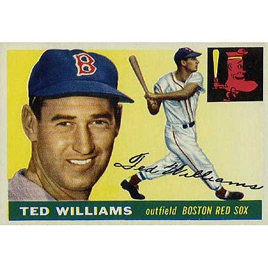 Ted Williams   - 1955 Topps