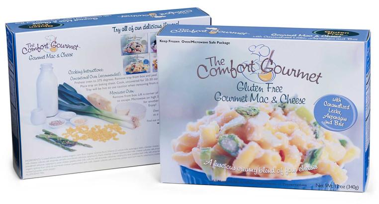 The Gourmet Comfort - Gluten Free Gourmet Mac & Cheese