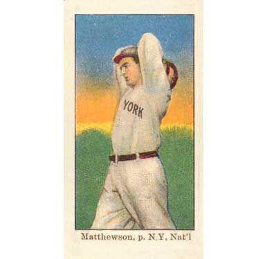 Christy Mathewson - 1909 Caramel E90-1