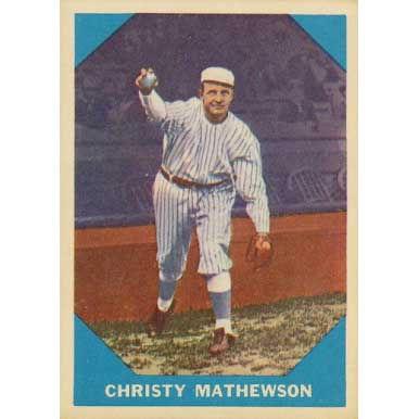 Christy Mathewson  - 1960 Fleer