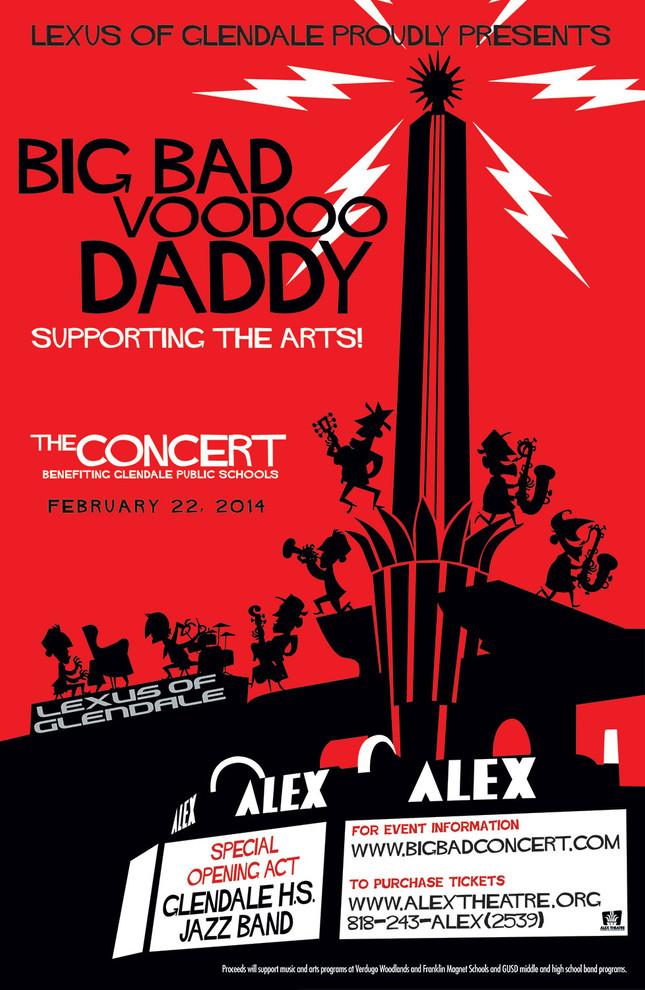Big Bad Voodoo Daddy - Poster
