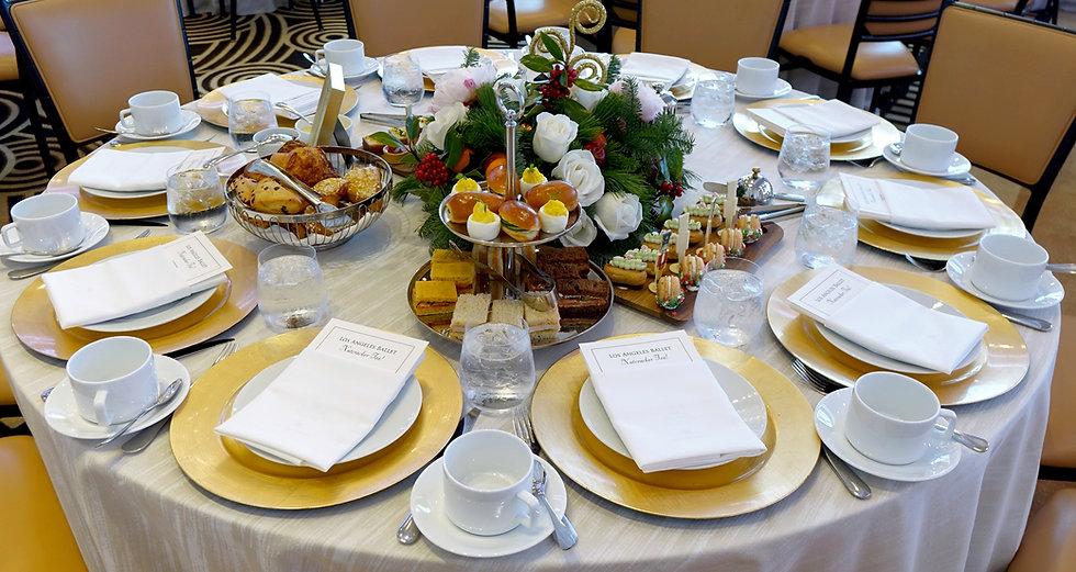 Los Angeles Ballet Nutcracker Tea Waldorf Table