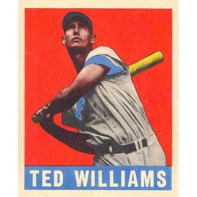 Ted Williams    - 1940 Leaf