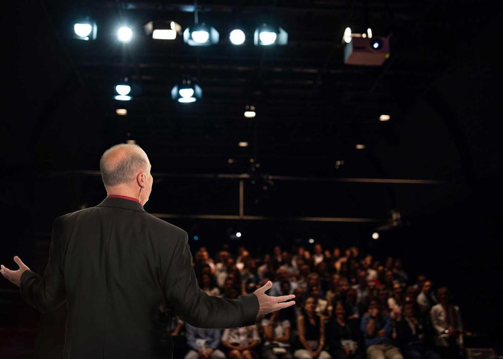 John Graci on Stage