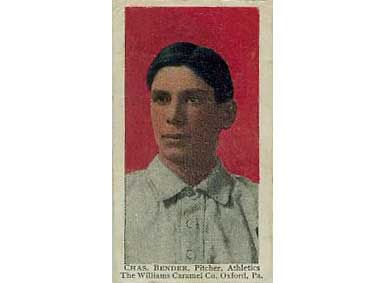 Chief Bender - 1910 Caramel E90-3
