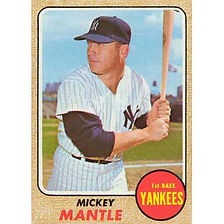 Mickey Mantle - 1968 Topps