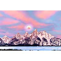 TETON MORNING STUDY 4  (2019)
