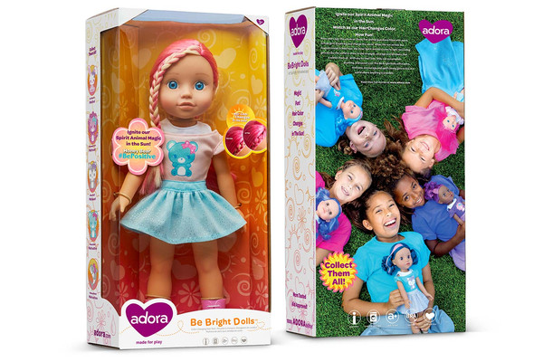Adora - Be Brite Dolls Packaging