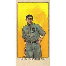 Caramel E-106 Baseball Cards