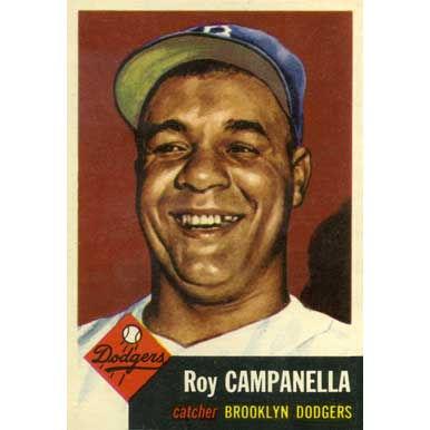 Roy Campanella   - 1953 Topps