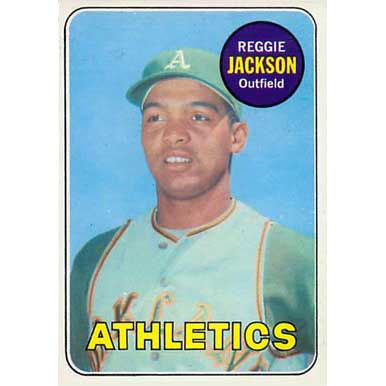 Reggie Jackson - 1969 Topps