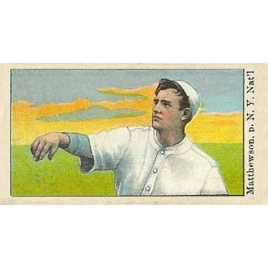 Christy Mathewson - 1909 Caramel E101
